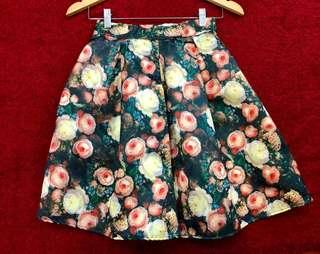 Tapas Floral Stretchable Skirt #MFEB20