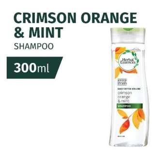 Herbal Essences Daily Detox Volume - Crimson Orange & Mint Shampoo 300ml #MFEB20