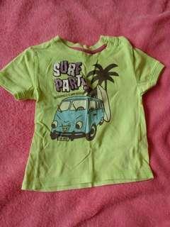 ZARA baby Yellowgreen Shirt