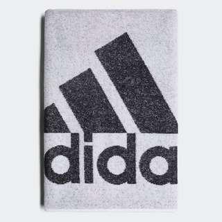 🚚 Adidas 全新 白色 Logo 純棉 快乾 運動 休閒 毛巾 浴巾 運動毛巾 游泳毛巾 DH2862