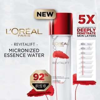 L'Oreal Revitalift Micronized Centella Essence Water Travel Size - 22ml #MFEB20