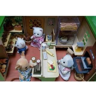 SYLVANIAN FAMILIES Sample Set-up Only (Please inquire for SF Original, Rare, Vintage and Discontinued Items)