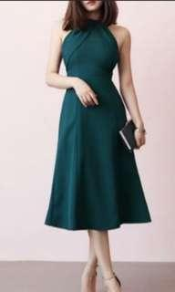 Green Dinner Dress #makespaceforlove