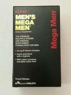 GNC Men's Mega Multivitamin
