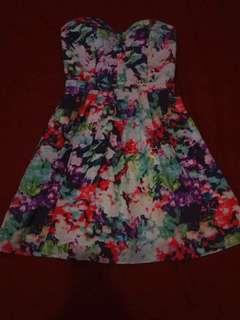 Floral Tube Dress #makespaceforlove