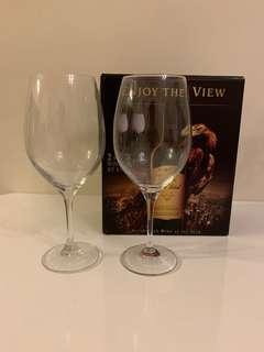 Wine Glasses 贈品紅酒杯 兩套