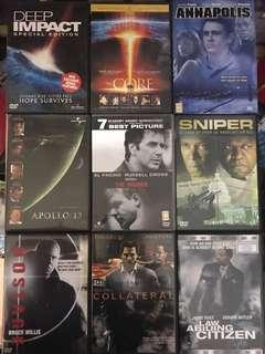 🚚 9 English Movies (DVD)