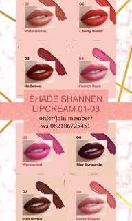 lip paint lip cream shannen