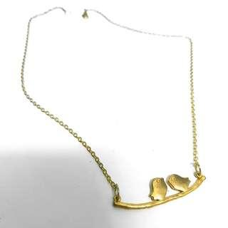 Two birds necklace #MFEB20
