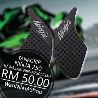 Tankgrip kawasaki ninja 250/300 2013-2017