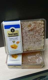 特價 📣 BURAM 野生蜂蜜板 HONEYCOMB 220g 440g DIY手作 美容 護膚 面膜 護髮 潤喉 止渴 鮮甜