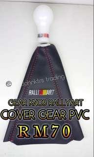 GEAR KNOB + COVER GEAR PVC