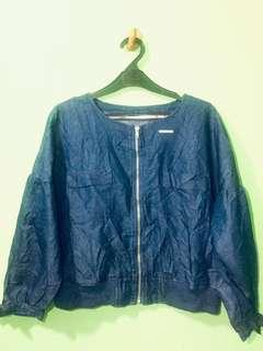 Outer jeans/ Jaket Jeans