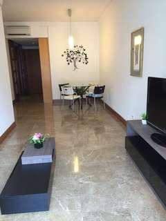 Tip top spacious 1 bedder, 785sq ft, furnished, facing Spore River/central business district