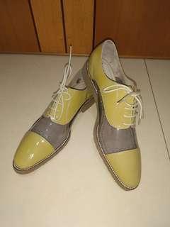 型格西裝鞋 (啡色) • MEN's Shoes (brown)