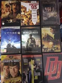 🚚 9 DVD movies