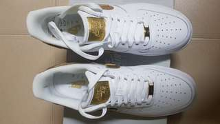 d916a8d226bc49 Nike Air Force 1 CR7 golden patchwork Ronaldo