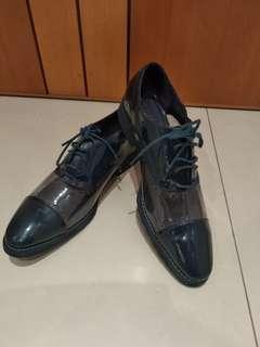 型格西裝鞋 (深藍色) • Men's shoes(Navy Blue)