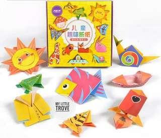Origami set for kids - beginner level
