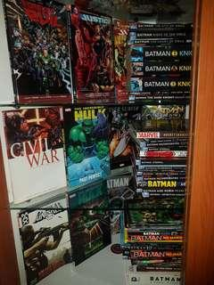 🚚 Marvel/Dc comics