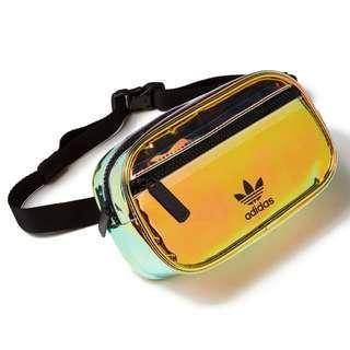 新款預訂!全新未使用 Adidas Originals IRIDESCENT WAIST PACK 腰包 Bag