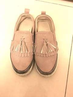 懶人淑女韓版鬆糕厚底鞋