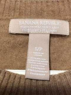 Banana  Republic  merino wool sweater