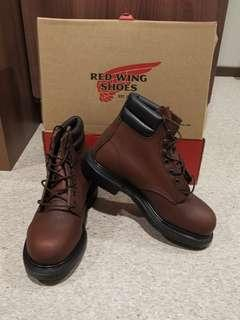 Red wing shoes size 38