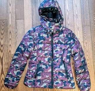 Women's Camo jacket with hood