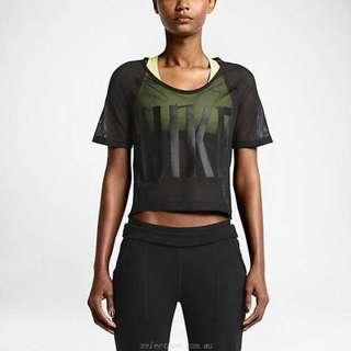 Nike Mesh GRX Crop Tshirt