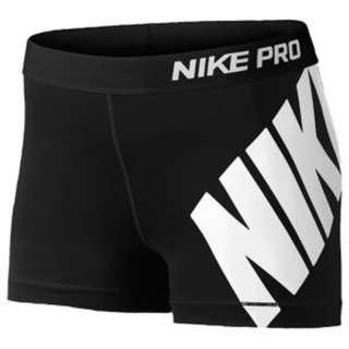 "Nike Pro 3"" Compression Shorts with Logo"