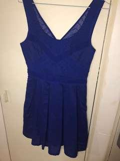 American Eagle Outfitters pleated dress size 0