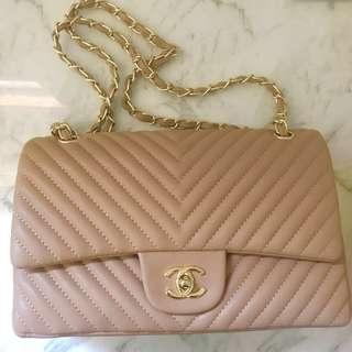 Vintage Chanel Chevron REPLICA