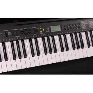 Casio CTK-240 Keyboard with Adaptor and stand and box