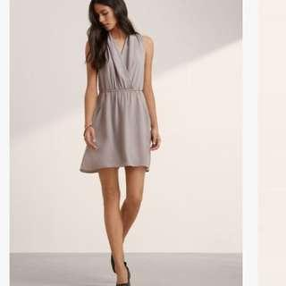 Aritzia Wilfred Sabine Brown Dress size Small