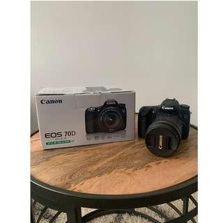 Canon 70D Camera (WITH LENS) [in great condition]