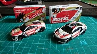 二次創作車Honda NSX-GT 一對