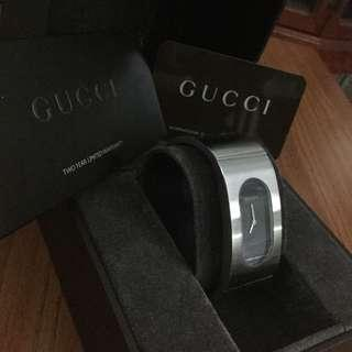 Authentic Gucci Bangle Watch