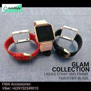 Glam collection for fitbit blaze