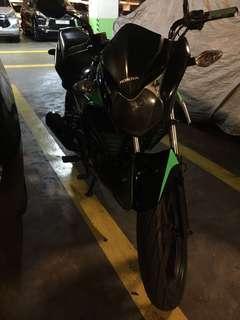 Honda cb110 2011