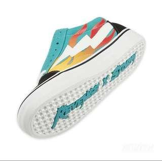 4a03bb9ac890bf Revenge x Storm Blue Flame Shoes