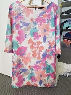 Zara Dress Size L Brand New