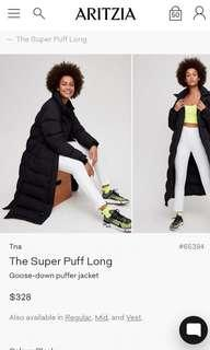 Brand New Aritzia Super Puff