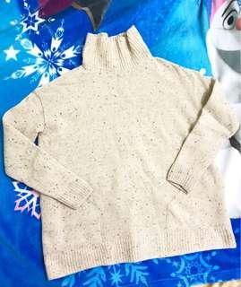 🚚 韓國毛線上衣 高領毛衣