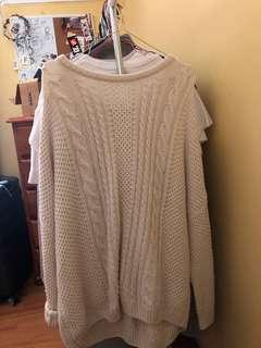 Knitted dress/top