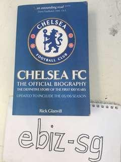 🚚 Chelsea FC official biography USED. Good condition