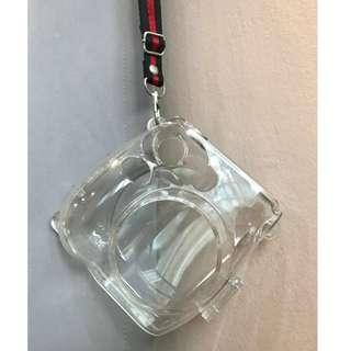 Transparent Camera PC Hard Case Cover for FujiFilm Instax Mini7 (Comes with Strap) #MFEB20