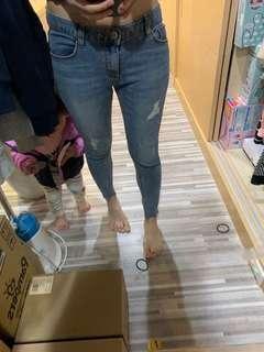 🚚 CHUU -5kg牛仔褲 超級好看 超顯瘦 韓國帶回
