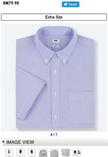New UNIQLO short sleeves shirt