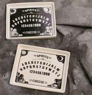 🚚 Ouija Board Spirit Plate Collectible Interesting